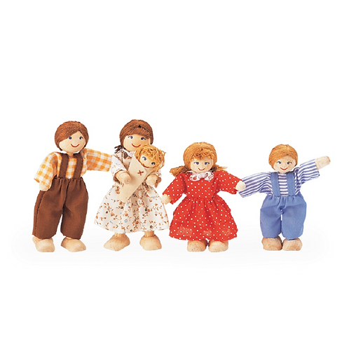 Doll Family of  Five