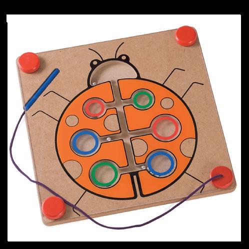 LadyBug Magnetic Maze
