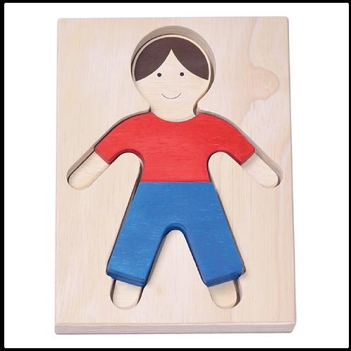 Boy Figure Puzzle
