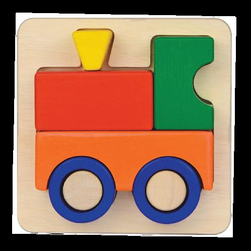 Train Tray Puzzles