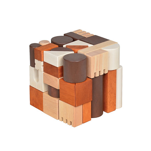 Mini Blocks Cube Natural