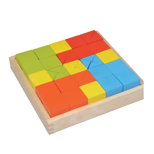 Square And Triangle Blocks