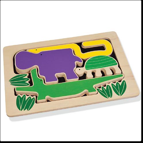 Amazon Animals Puzzle