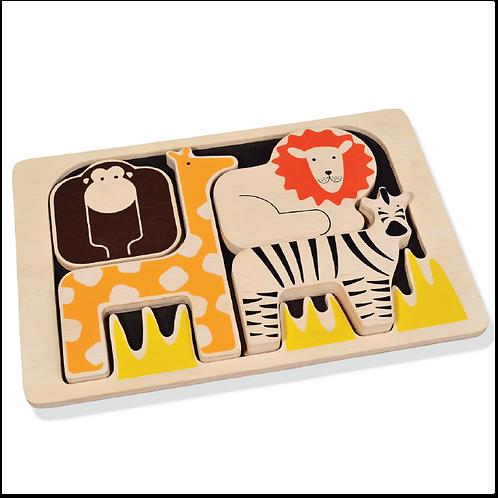 Zafari Animals Puzzle