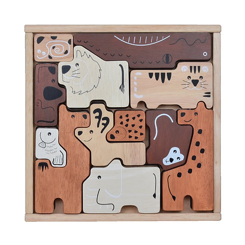 Animal Tray Puzzle