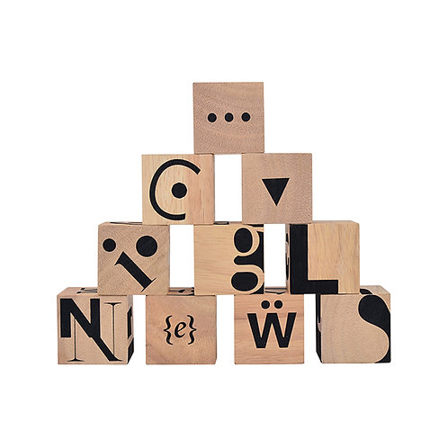 Typographic Blocks