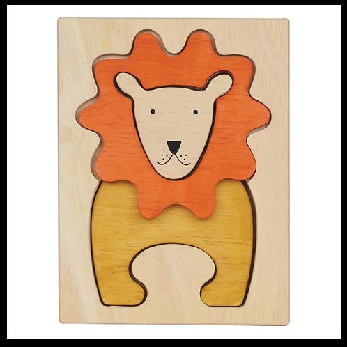 Lion Figure Puzzle