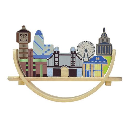 London Cityscape Arch Balance