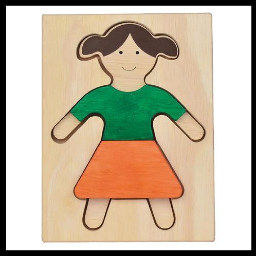 Girl Figure Puzzle