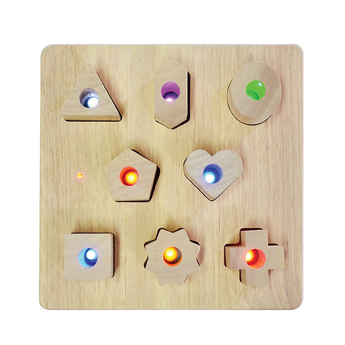 Light Up Shape Sorting Board