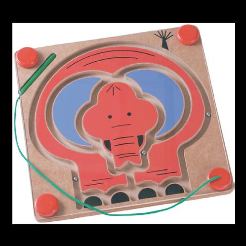 Elephant Magnetic Maze