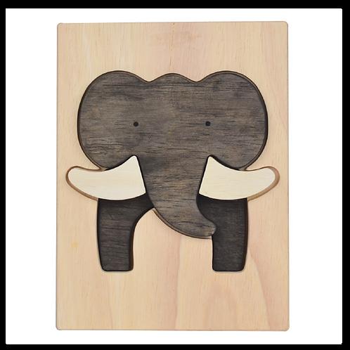 Elephant Figure Puzzle