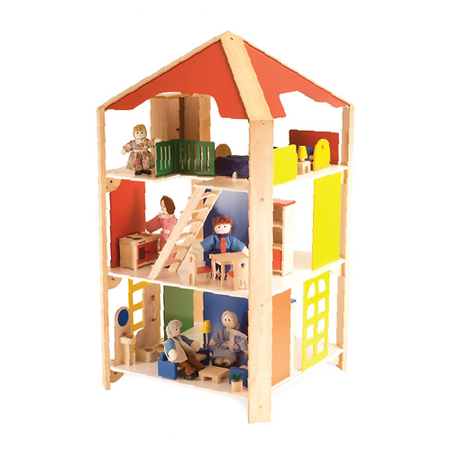 Grand Four Way Doll House