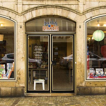 Photo de la deventure des Chats Perchés à Langres - café et magasin de jeux de société et librairie