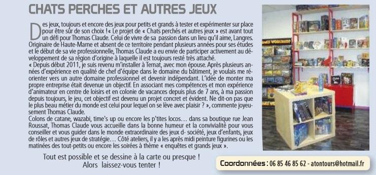 Magazine Langres Ma Ville n°13 Automne 2012 2