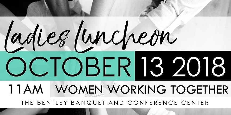 Ladies Luncheon Women Working Together