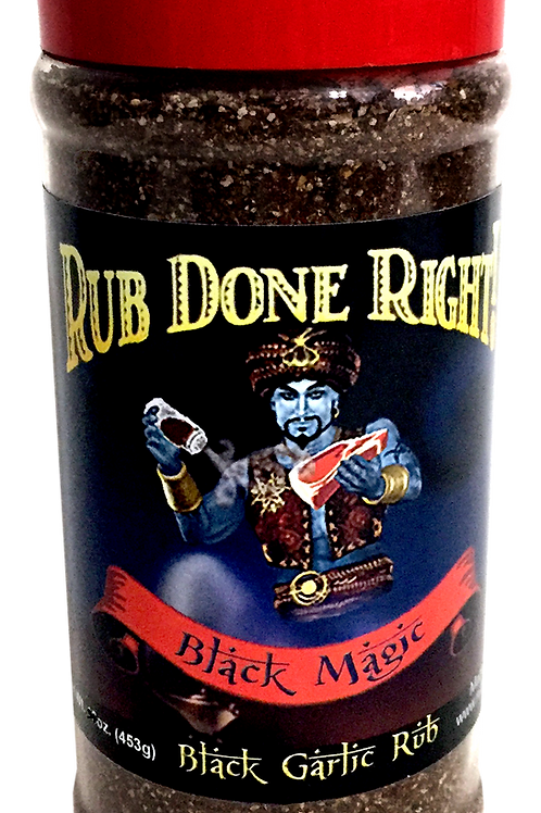 BLACK MAGIC Steak Rub (Refrigerate after use!)
