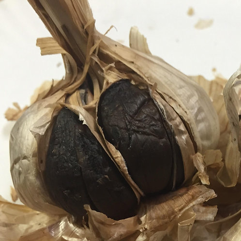 100% Dry Pure Black Garlic cloves (1 lb)