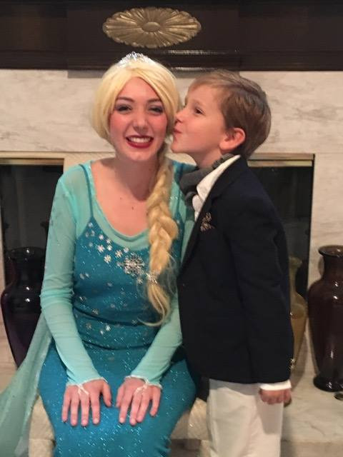 Donnelly as Elsa