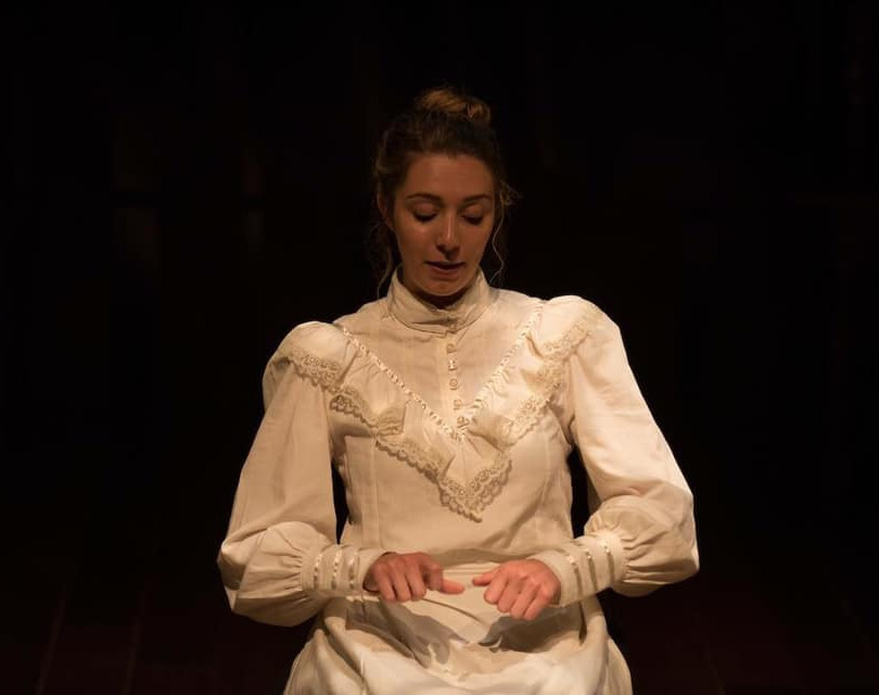 "Julia Gibbs in ""Our Town"""
