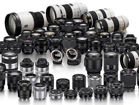 New Sony Camera & Lens Discounts
