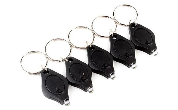 Mini LED Keychain Flashlights