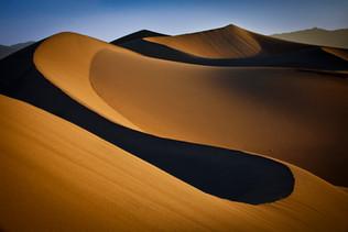 Mesquite Flat Sand Dunes, Death Vally