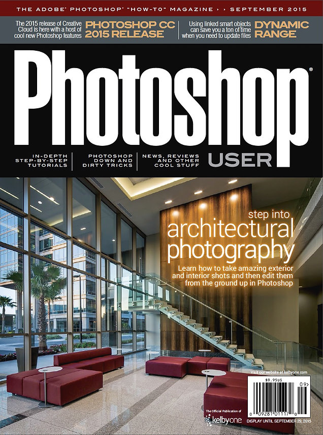 Cover and Articles for Photoshop User Magazine!