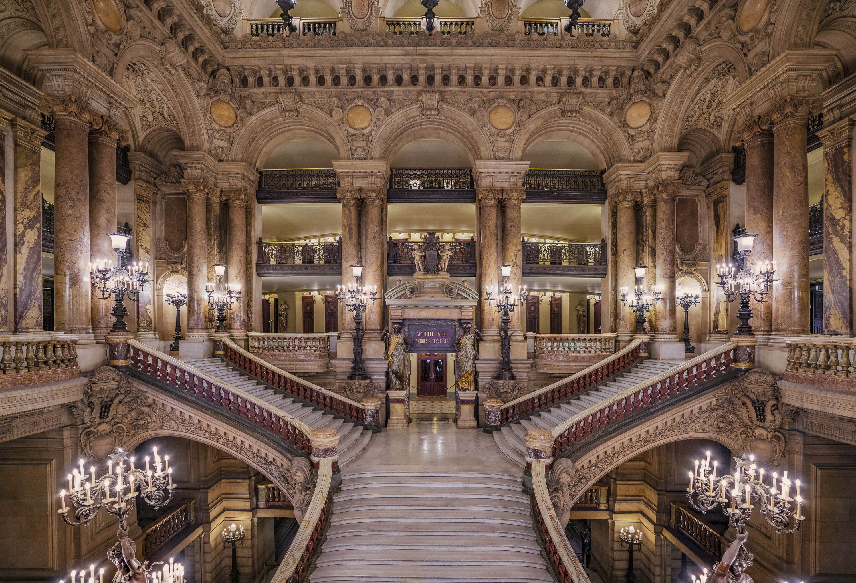 The Paris Opera Lobby