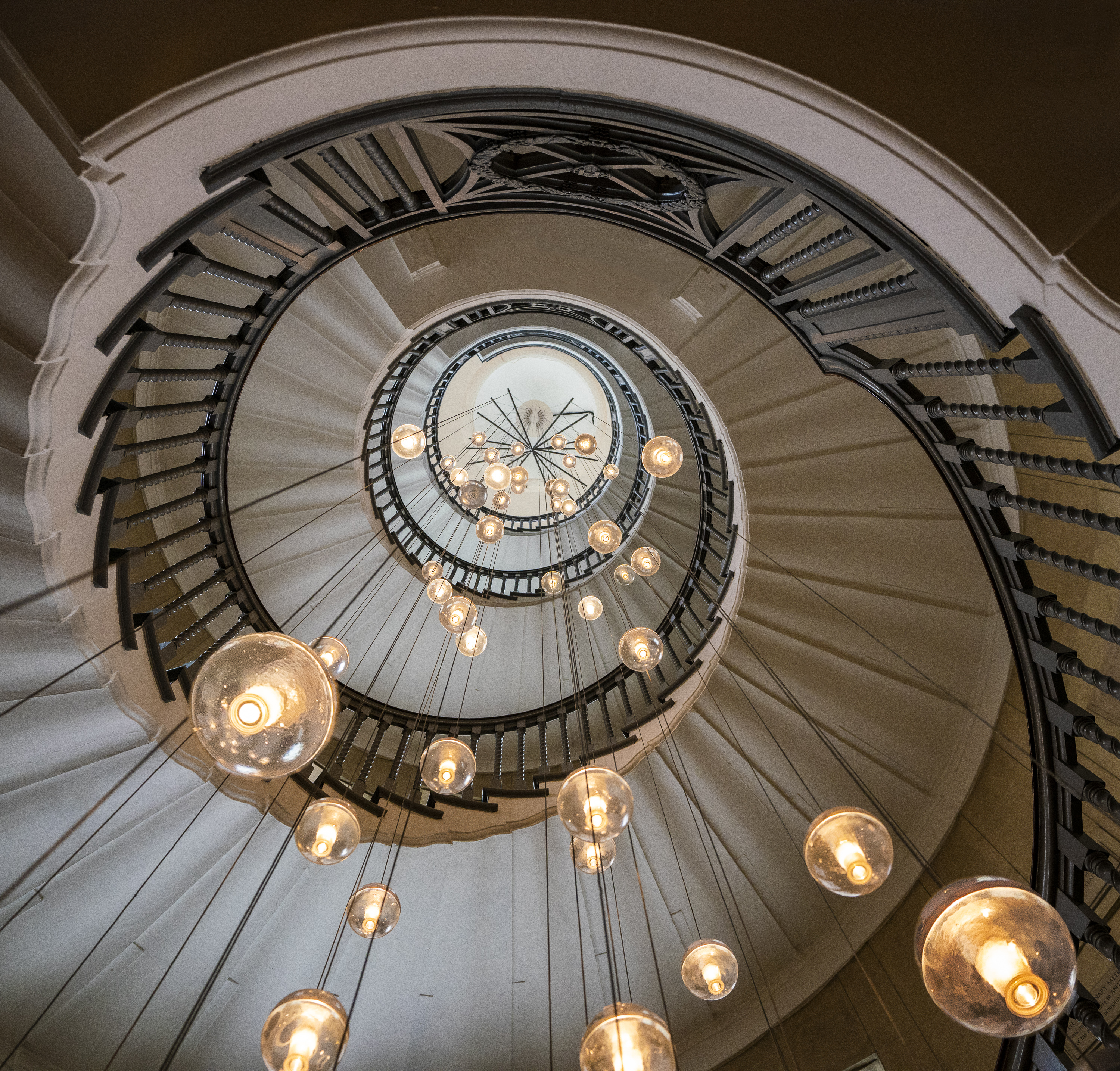 Spiral Staircase in Heal's
