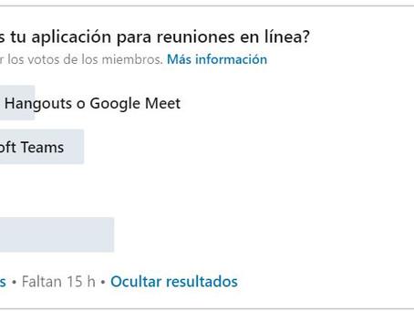 ¿Cuál es tu aplicación para reuniones online?