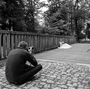 fotogrofování v parku