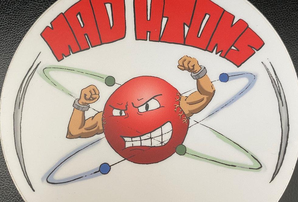 Mad Atoms STICKER