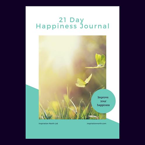 21 Days To Happiness Workbook