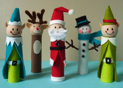 holiday-finger-puppets