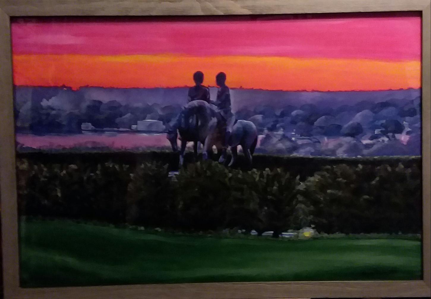 Sunset in Nauvoo