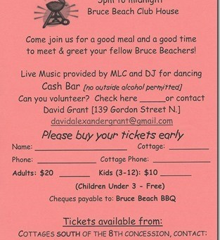 Tickets for Bruce Beach BBQ
