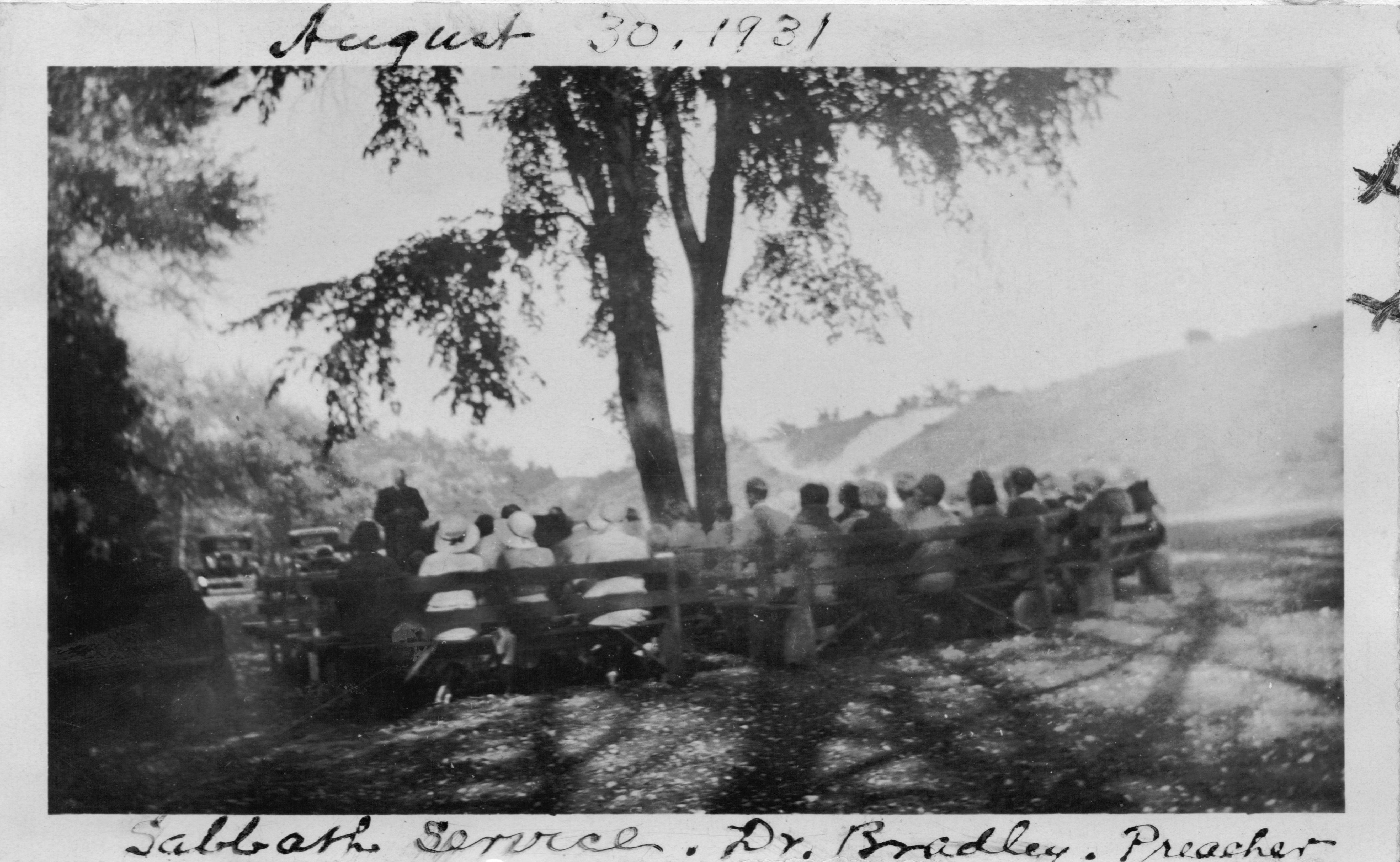 Church service August 31, 1931.jpg