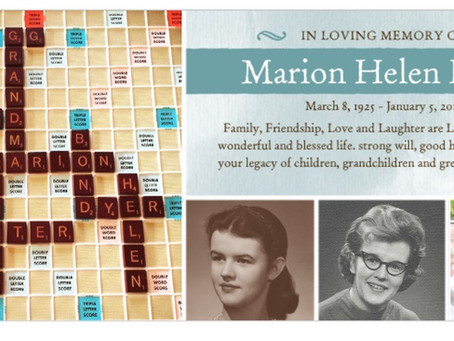 Obituary - Marion Helen Dyer - Cottage 125 &119
