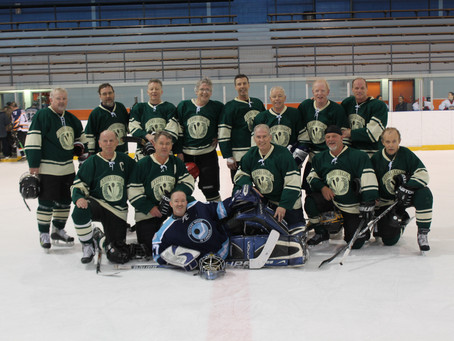 Bruce Beach Hockey Win