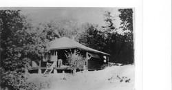 Cottage No 1 Bruce Beach Taken about 1923-24 Built by Agnes Morrison nee Hamilto