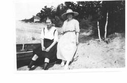 Ruth Elliott + unknown person on boat.jpg