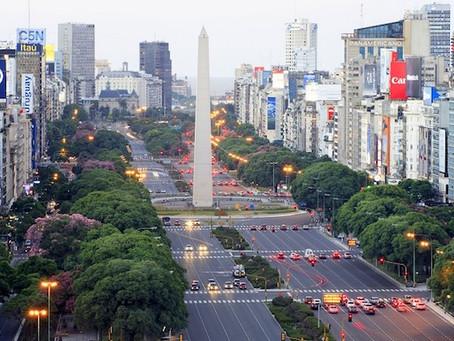 A avenida mais larga do mundo