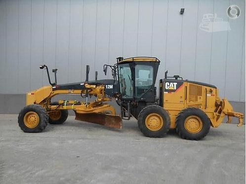 2011 CATERPILLAR 12M MOTOR GRADER 3,950HRS