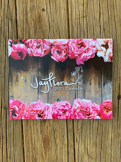 2021 Jayflora Calendar