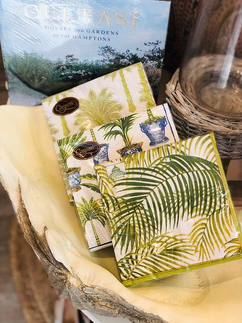 Green Palm Tree Napkins