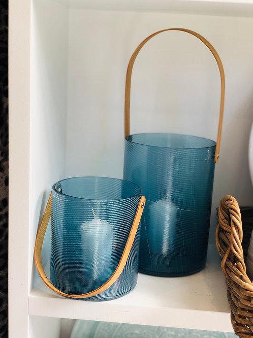 Indoor Blue lanterns