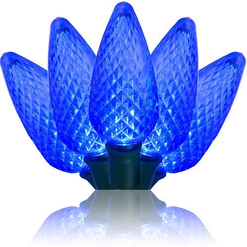 Blue C9 LED Stringer 17'