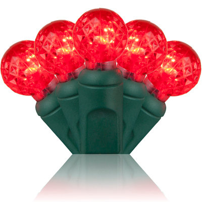 G12 Razzberry Red LED Christmas Lights