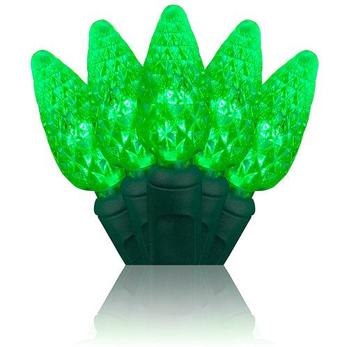 Green C6 LED Stringer 24'